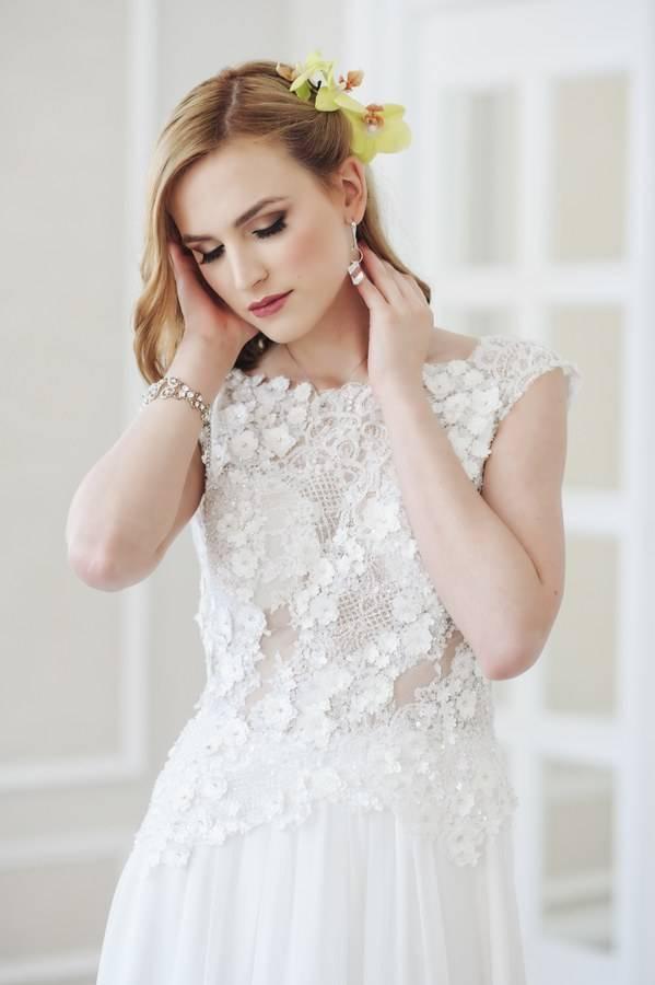 suknia ślubna wstylu boho